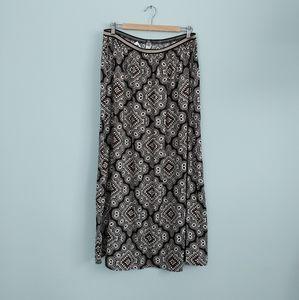 🔥3/$25 | Old Navy | printed midi skirt